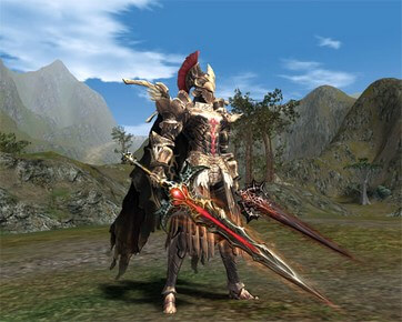 Blood Sword Akamanah